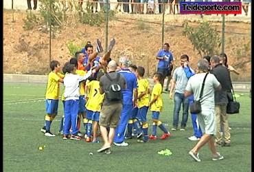 UD Las Palmas 4 - C.F. La Garita 0. Copa de Campeones Alevín Preferente Preferente